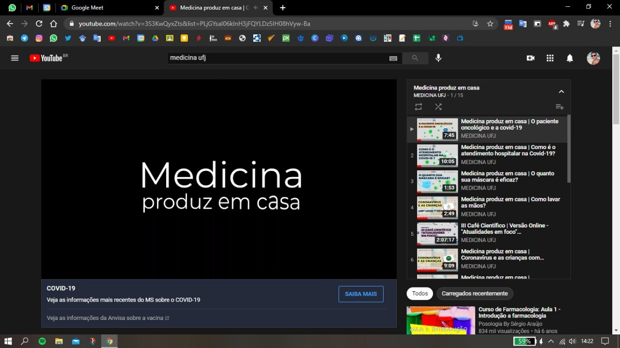 Medicina Produz em Casa