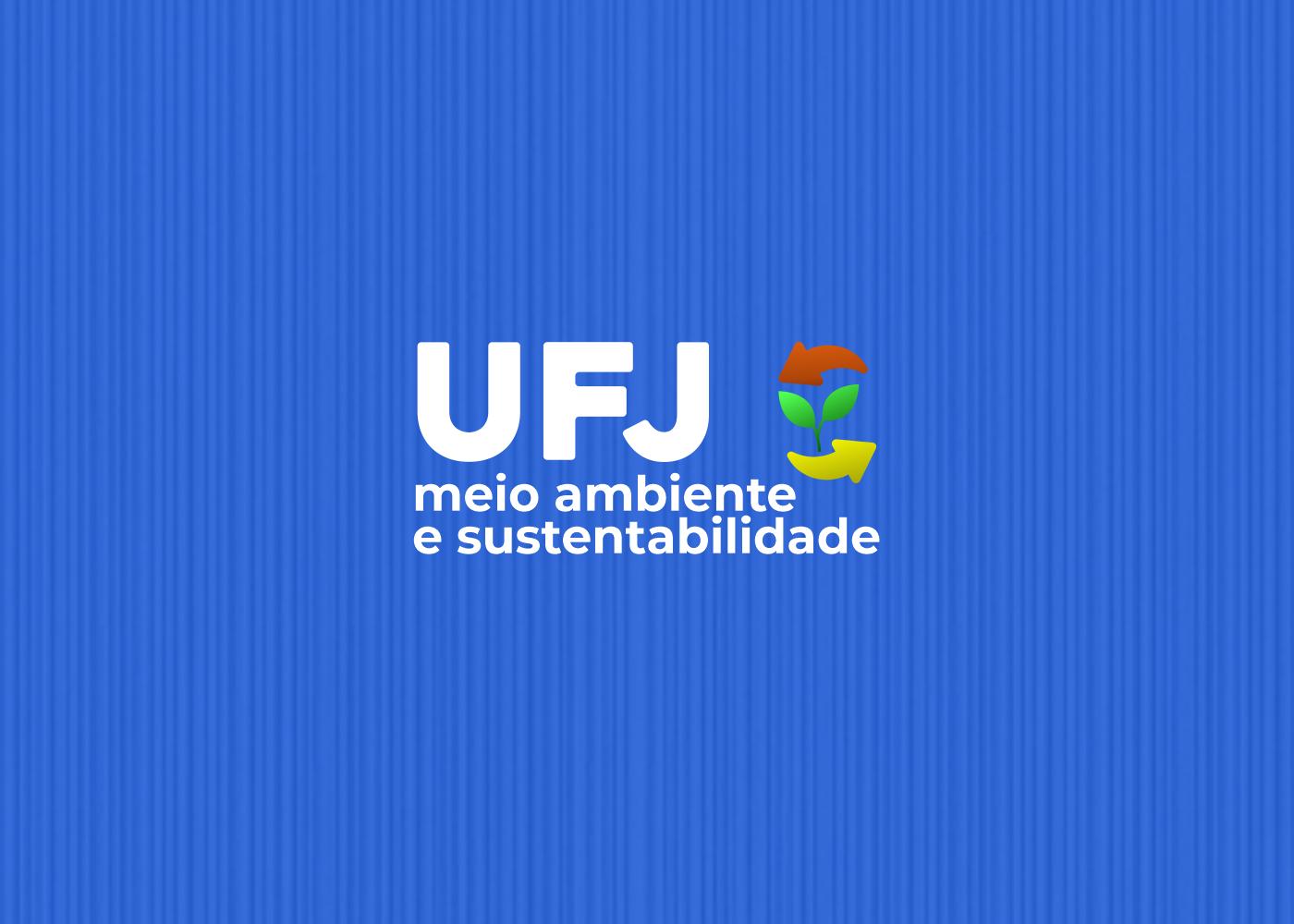 Logotipo UFJ meio ambiente e sustentabilidade