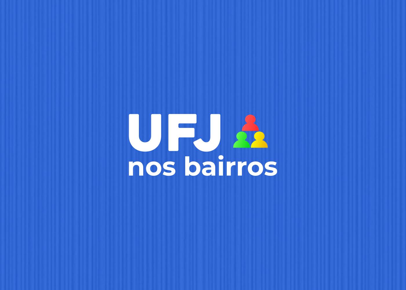 Logotipo UFJ nos bairros