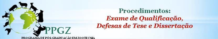 Exame de qualificação e Defesas