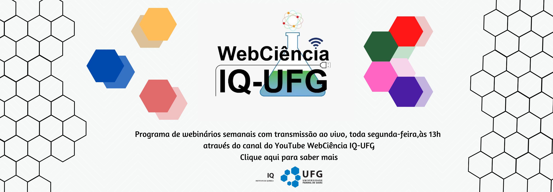 Banner Webciência IQ-UFG