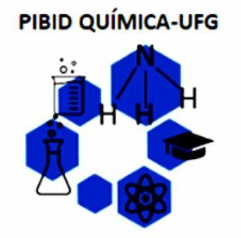 Logotipo PIBID QUÍMICA - UFG