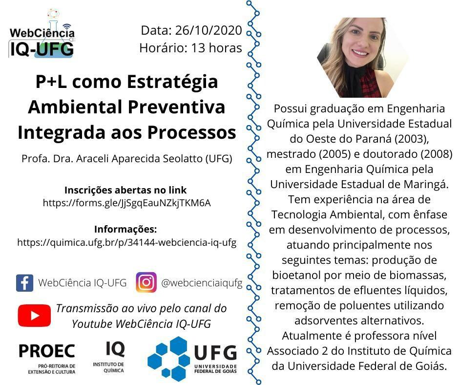 Webinário Araceli