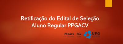 Banner Retificação Edital 2020