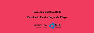 banner resultado final segunda etapa ps2020