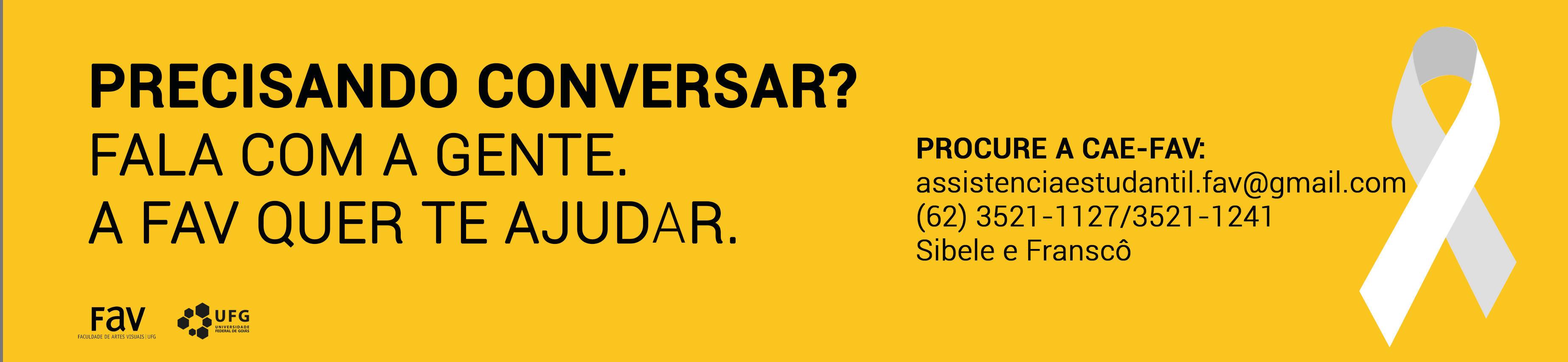 Banner Coordenação de Assuntos Estudantis