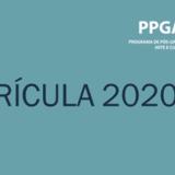 Banner Matrículas 2020-1
