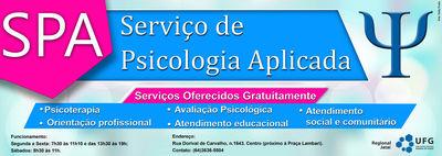 Serviço de Psicologia Aplicada (SPA)