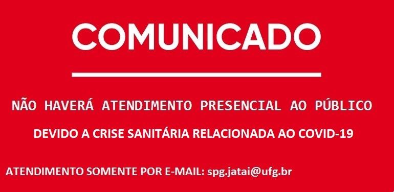 COMUNICADO 3