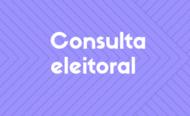 Consulta eleitoral