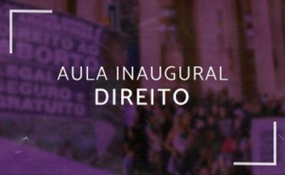 Aula Inaugural Direito UFJ