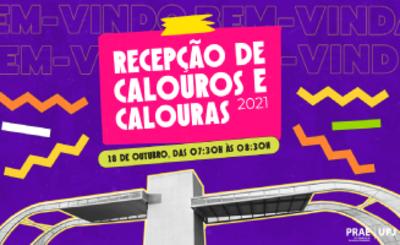 Recepção Calouros UFJ 2021