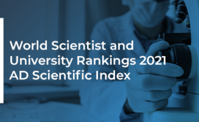 World Scientist and University Rankings 2021