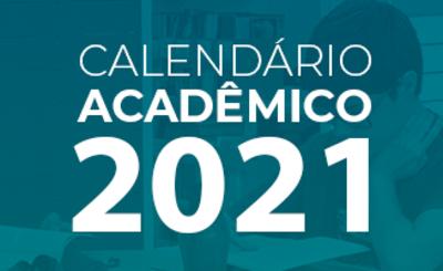 calendário acadêmico UFJ 2021