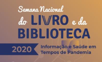 Semana Nacional do Livro e da Biblioteca 2020