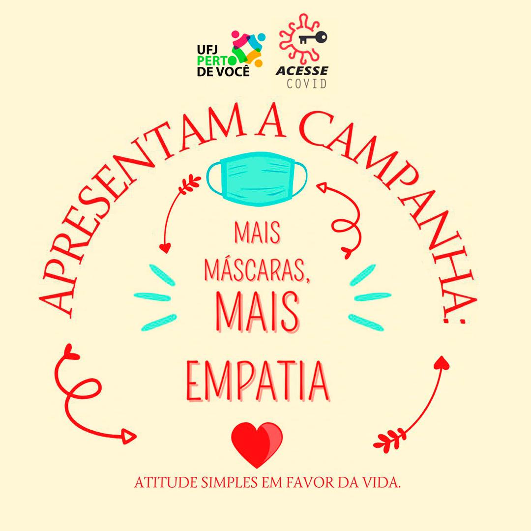 Campanha Mais Mascaras Mais Empatia