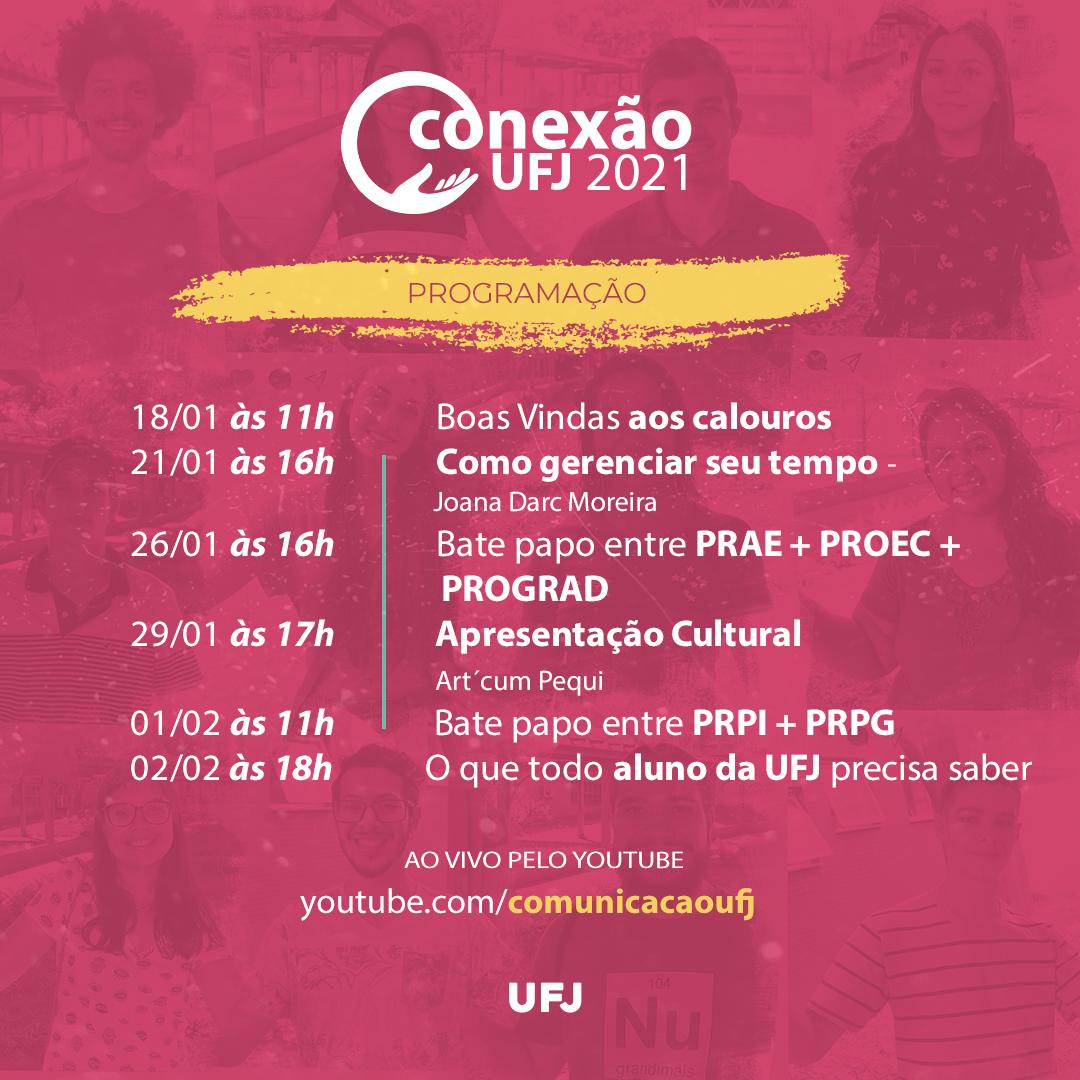 Programação Conexão UFJ 2021