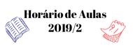 Imagem horario 2019/2