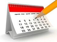 Calendário reuniões