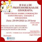 II Sala de professores divulgação 2021