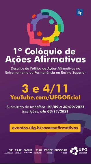 1º Coloquio de Ações Afirmativas UFG