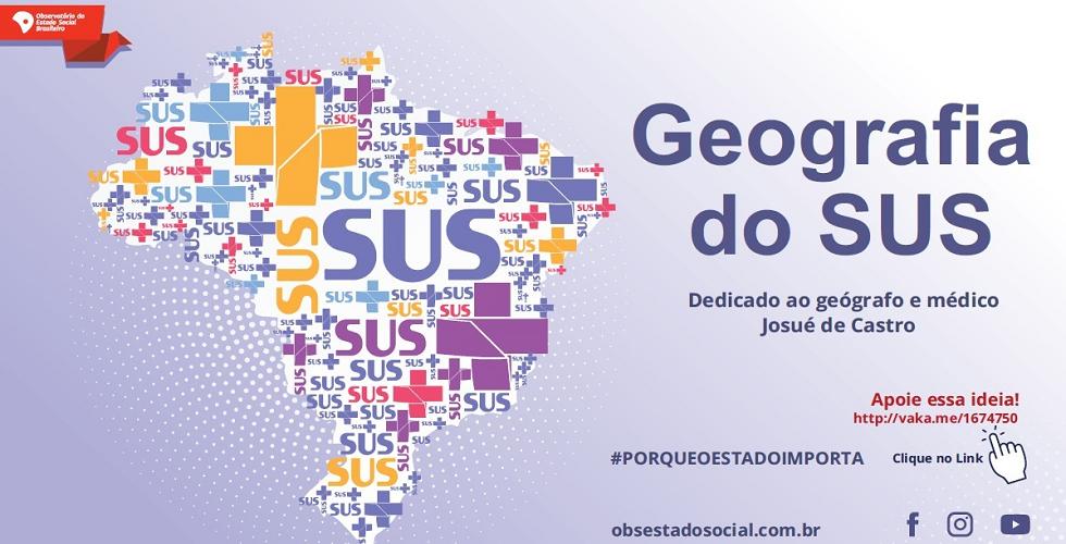 A Geografia do SUS_banner