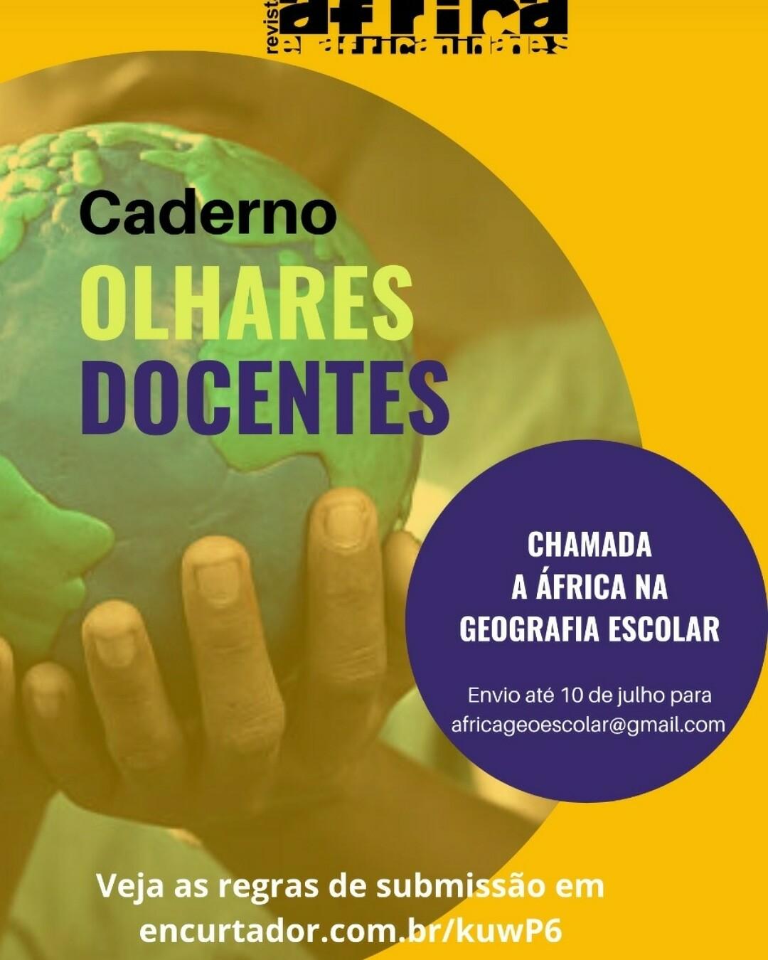 cartaz ChamadaAfricaGeoEscolar