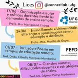 Ensino Remoto CONNECTLAB_LIVES_202006_JUNHO