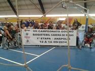Projeto de Basquetebol em Cadeira de Rodas
