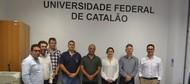 UFCAT recebe visita do Deputado Federal Major Vitor Hugo