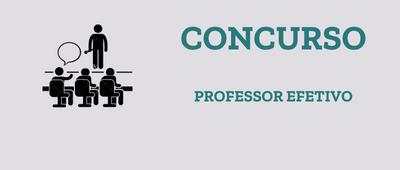 Concurso para professor efetivo - UFCAT