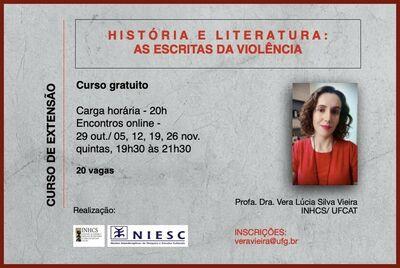 """Curso de Extensão """"História e literatura: escritas da violência"""""""