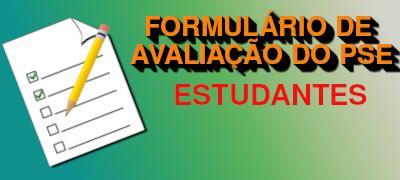 Formulário de Avaliação do PSE pelos discentes