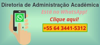 DAA disponibiliza atendimento via WhatsApp