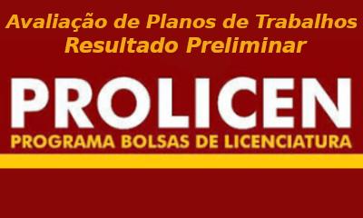 Logo_Prolicen_Planos_Trabalhos_Resultado_Preliminar
