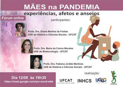 Fórum Online - Mães na pandemia