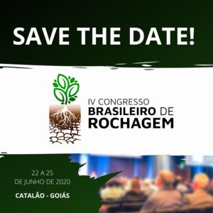 IV Congresso Brasileiro de Rochagem