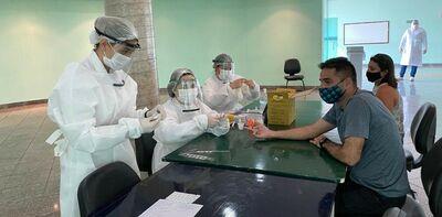 UFCAT realiza testagem coletiva em servidores que exerceram trabalho presencial na Universidade