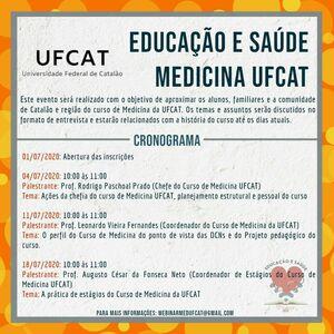 Educação e Saúde - Medicina UFCAT
