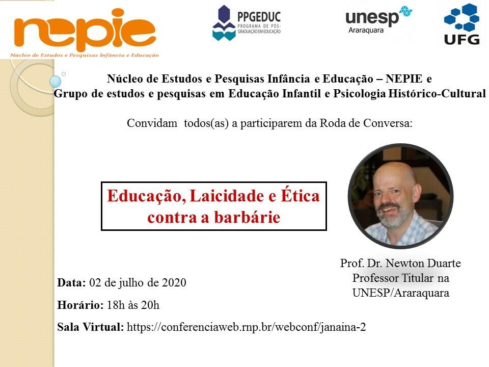 Convite NEPIE 02-07 Newton
