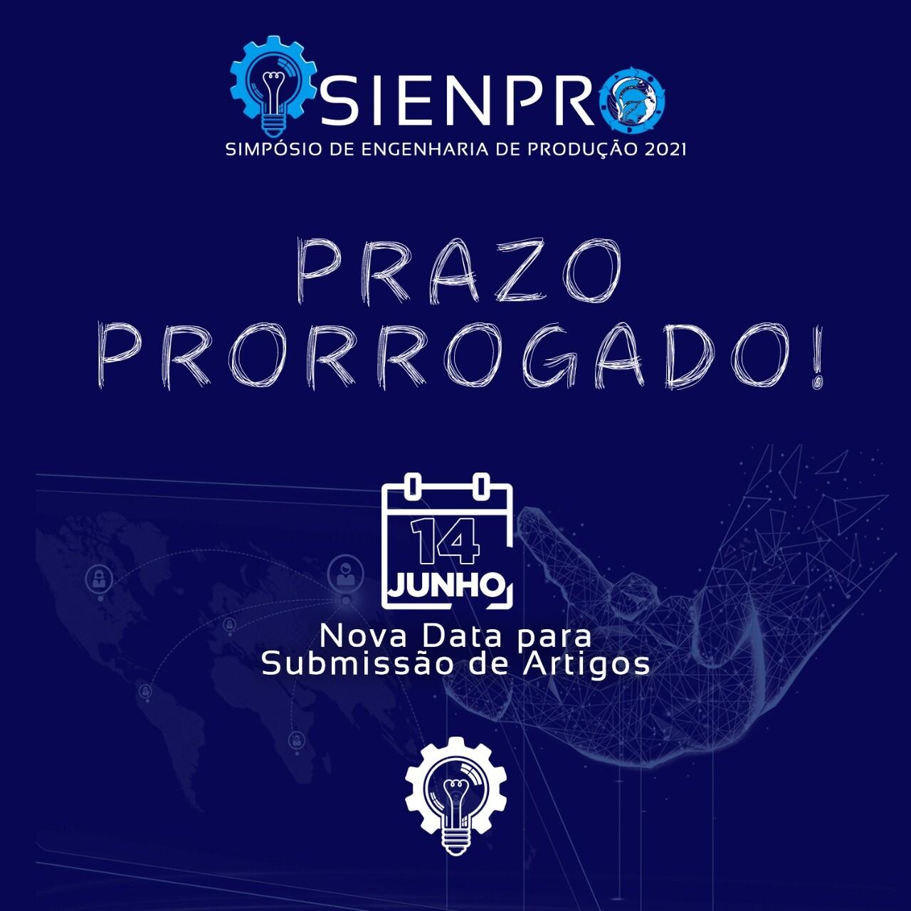 Prorrogado prazo de submissão de artigos no III SIENPRO