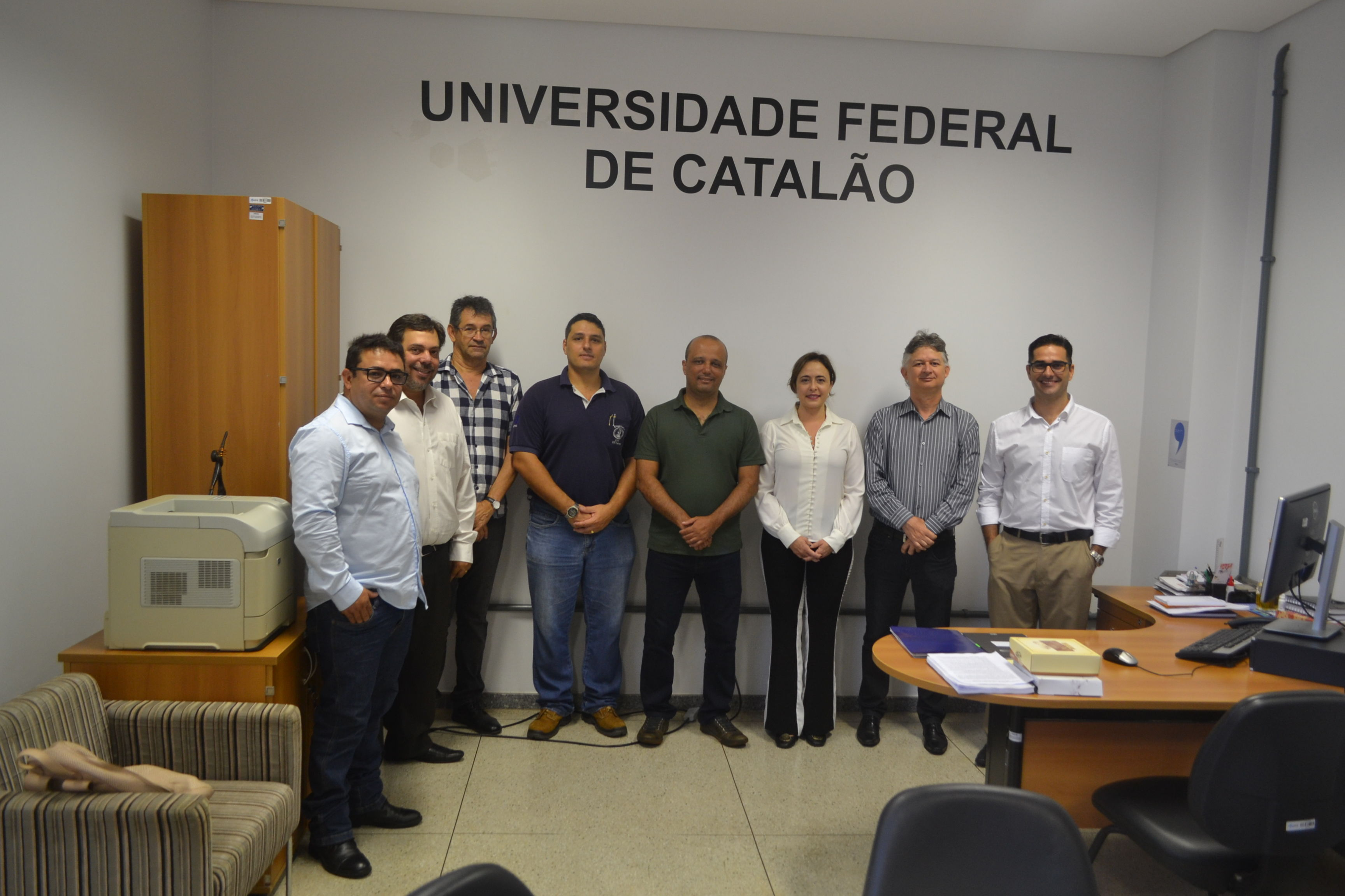 UFCAT recebe visita do Deputado Federal Major Vitor Hugo