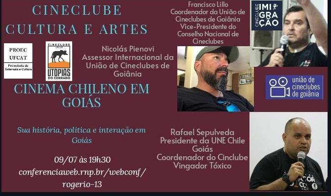 Cineclube Cultura e Artes: Cinema Chileno em Goiás