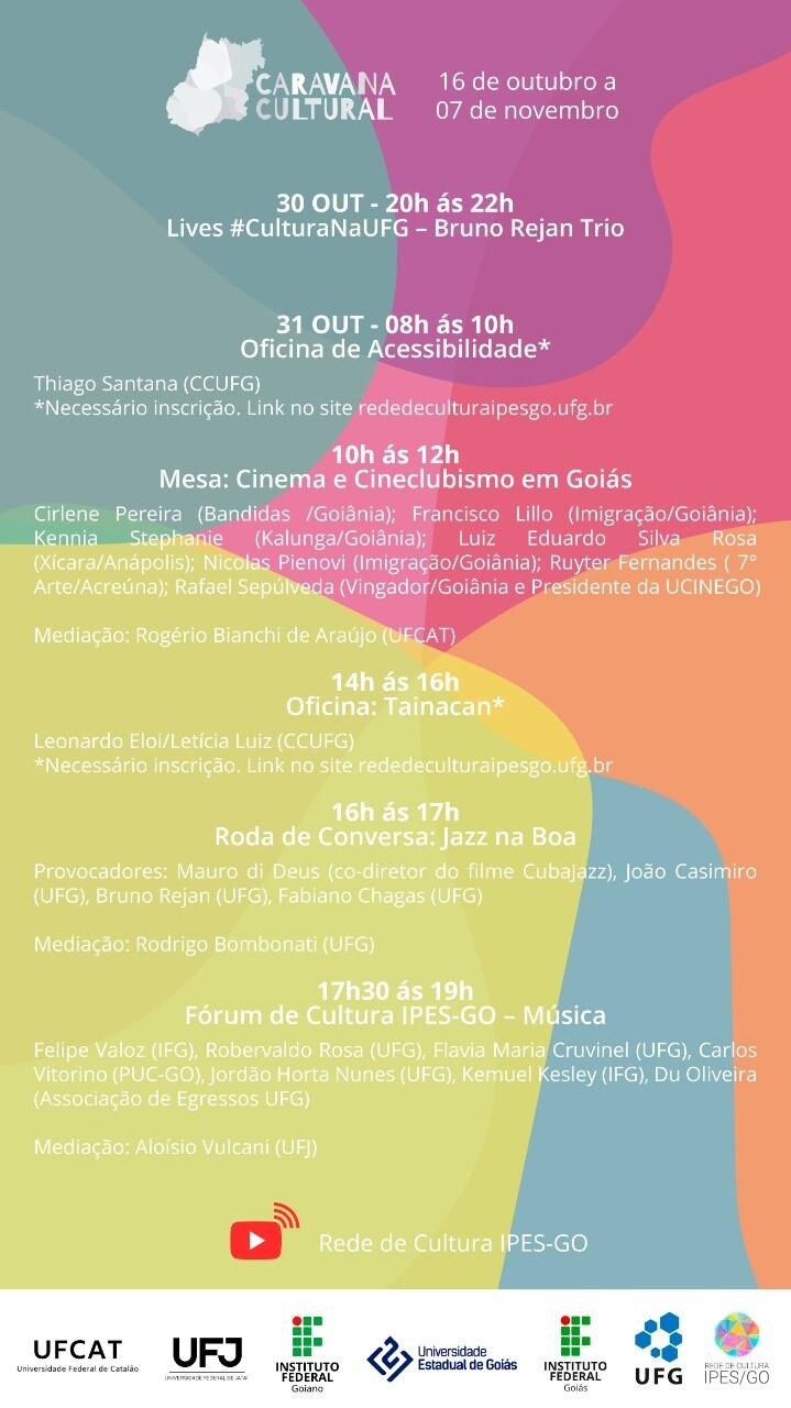 Caravana Cultural da Rede de Cultura IPES-GO