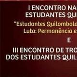 I encontro nacional de estudantes quilombolas