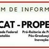 PROPESQ-UFCAT divulga boletim de informações com editais abertos