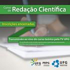 UFG Doutoral promove curso de Redação Científica