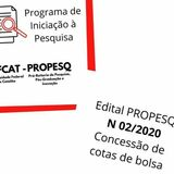 Logo - Edital PROPESQ  02 2020 (Bolsas)
