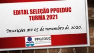 Aviso Edital Seleção - Turma 2021