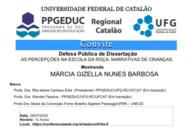 Banca de Defesa de Mestrado de Márcia Gizella Nunes Barbosa